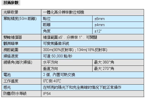C10 6 三維雷射掃瞄儀ScanStation C10