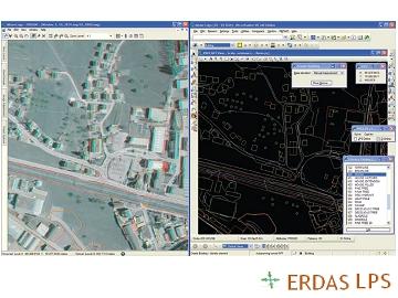 LPS 航測空三測圖軟體ERDAS LPS